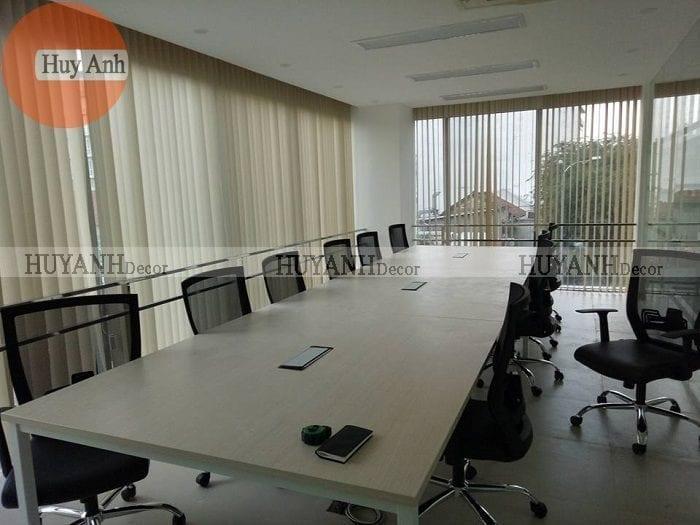 Mành rèm văn phòng lắp tại 114 Nguyễn văn cừ – Long biên