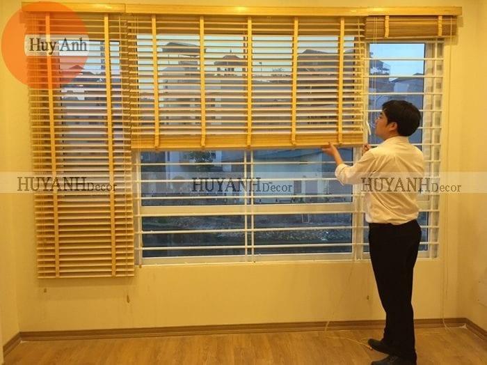 Rèm gỗ tự nhiên: HOT GIRL giành cho cửa sổ