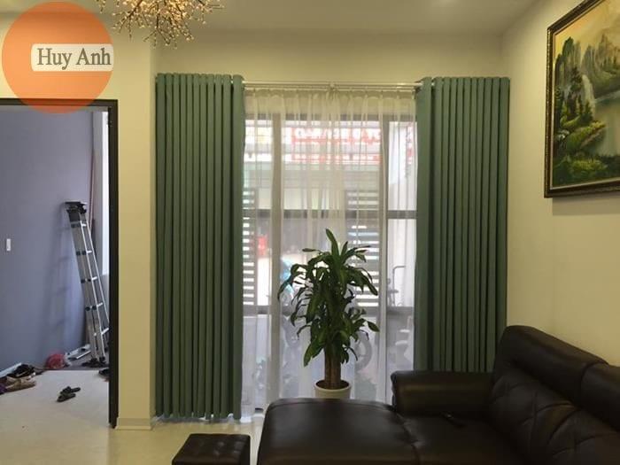 Rèm cuốn cầu vồng đẹp và rèm vải phòng khách 2018