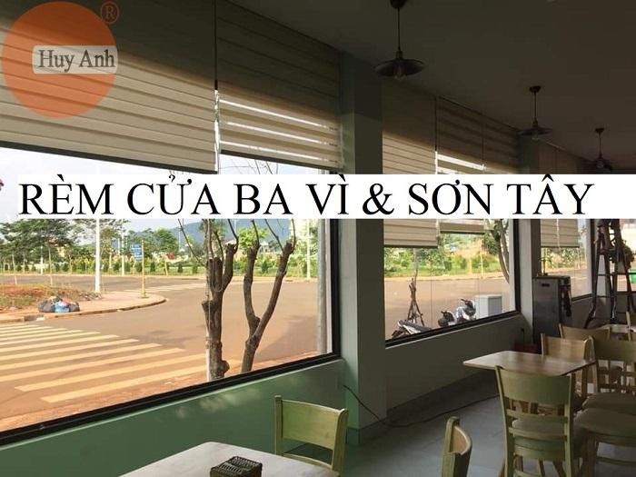Đại lý cung cấp lắp đặt rèm cửa khu vực Huyện Ba Vì, Sơn Tây – 0933.006.009