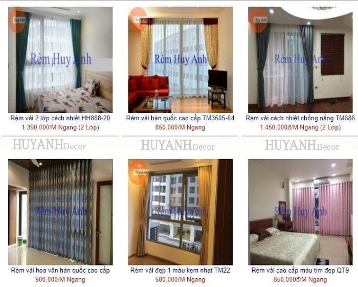 Những mẫu rèm cửa sổ chung cư đẹp trang trí và che nắng