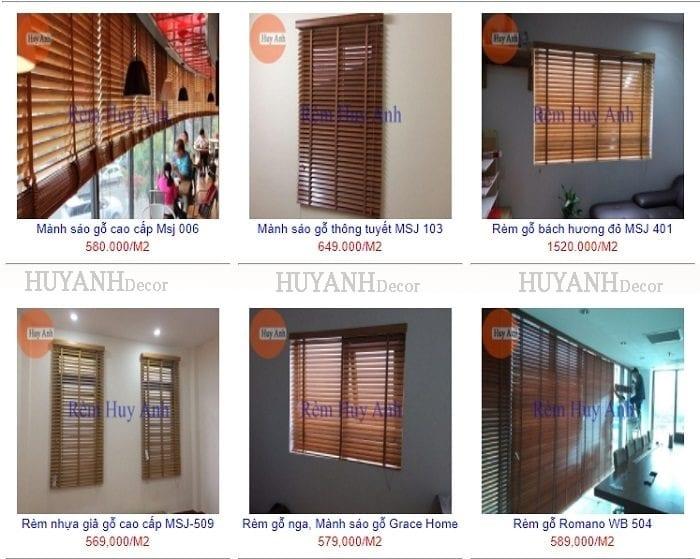 Rèm gỗ hải phòng – Tư vấn thiết kế và lắp đặt rèm gỗ cửa sổ đẹp