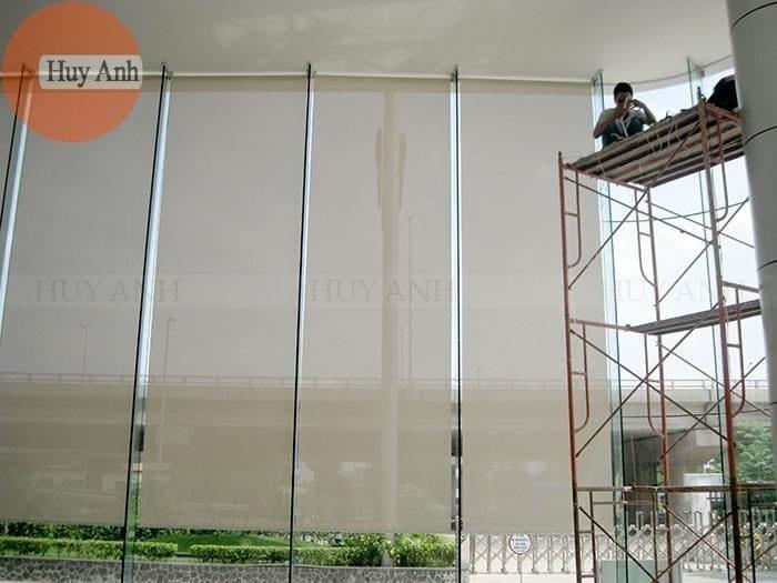 cách lắp rèm cuốn lưới