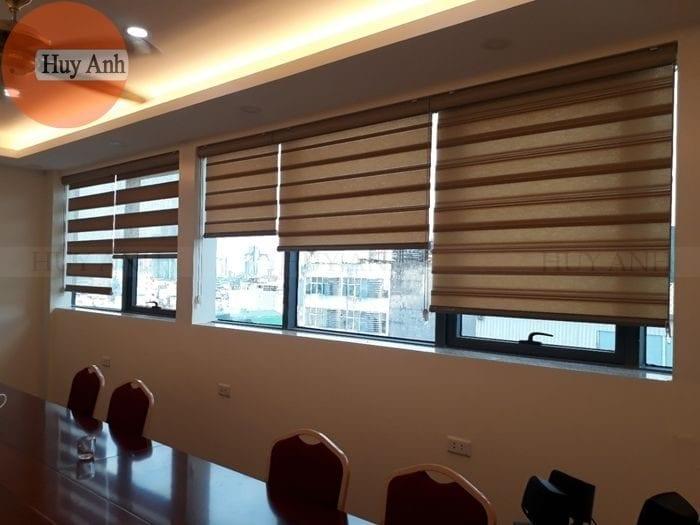 Lắp đặt 57m2 rèm cửa sổ ở Cầu giấy, Rèm cầu vồng EBL 1601