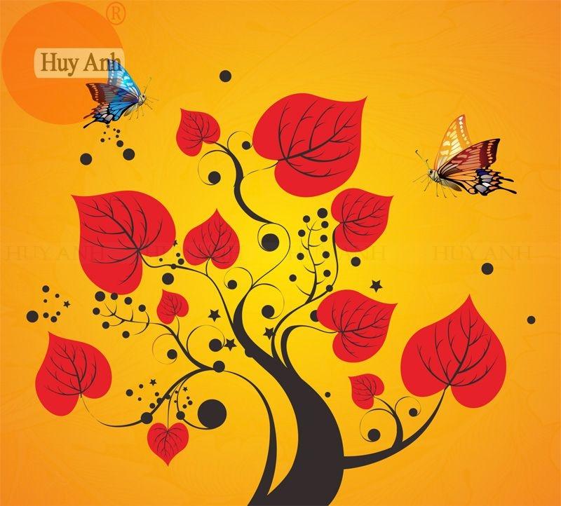 Rèm cuốn tranh japan HA01