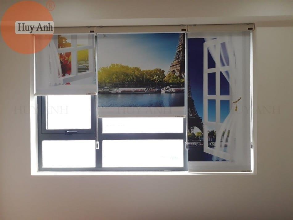 Rèm cuốn cửa sổ in tranh HA-Tokyo