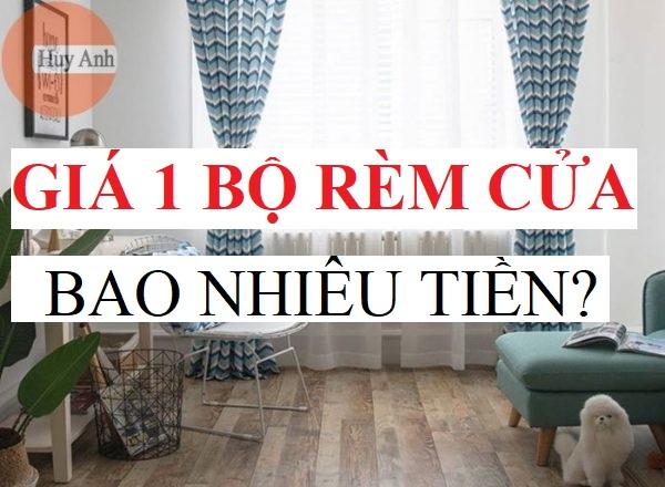 Giá 1 bộ rèm cửa sổ bao nhiêu tiền, Rèm cửa giá bao nhiêu 1m