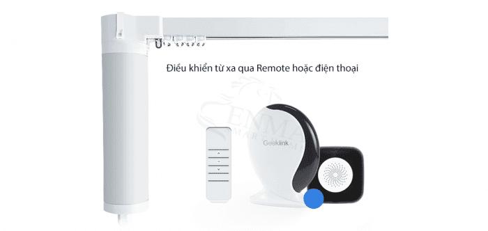 Động cơ rèm tự động Wifi – Rèm cửa thông minh SmartHome 4.0