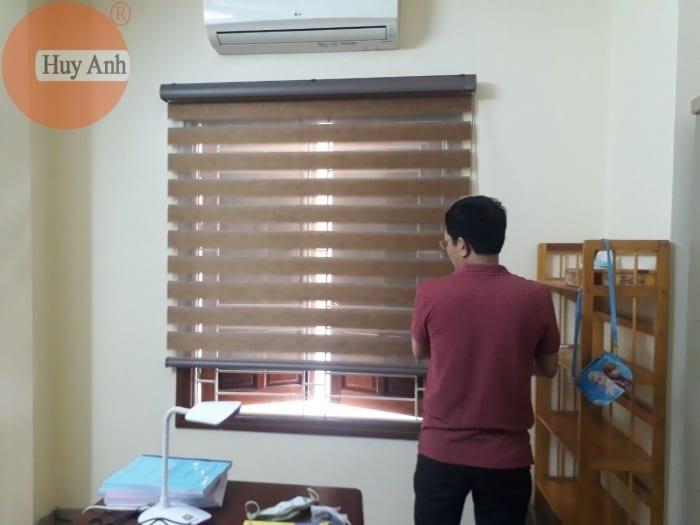 Đi lắp rèm cửa sổ gỗ, mành combi tại La phù, Thanh thủy, Phú Thọ