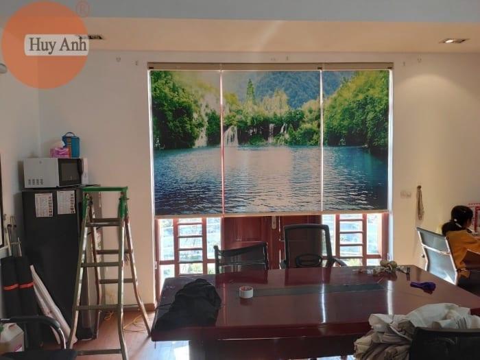 239 Mẫu rèm cuốn tranh 3d đẹp giá rẻ 345k tại Hà Nội, in nét