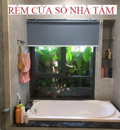 Các mẫu rèm cửa sổ nhà tắm, nhà bếp 2020, kèm giá tiền.