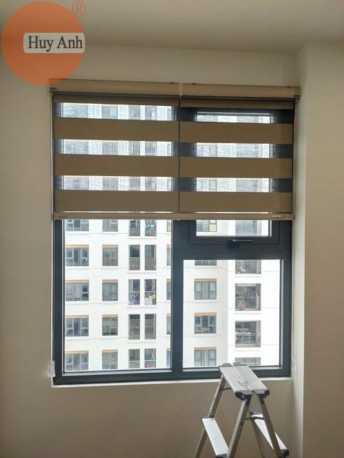 Lắp đặt rèm cửa sổ chung cư HomeLand, Thượng Thanh Long Biên