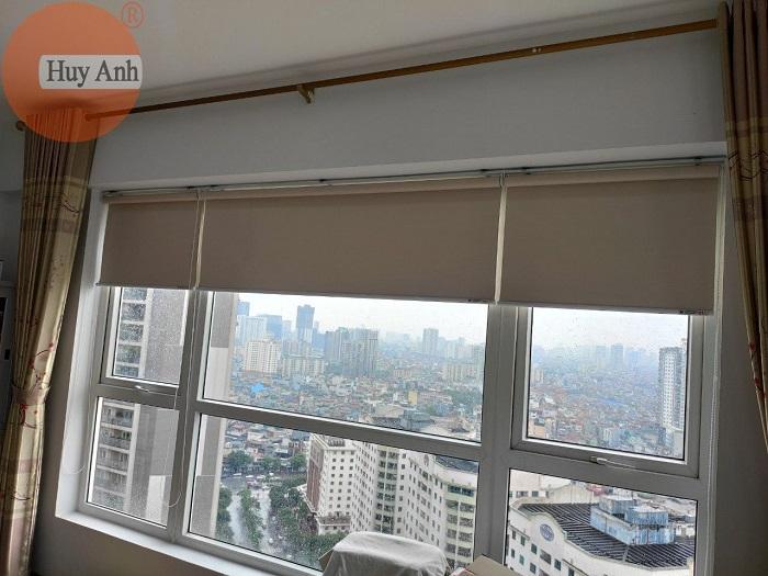 Lắp rèm chống nóng cho cửa sổ chung cư Hà Nội