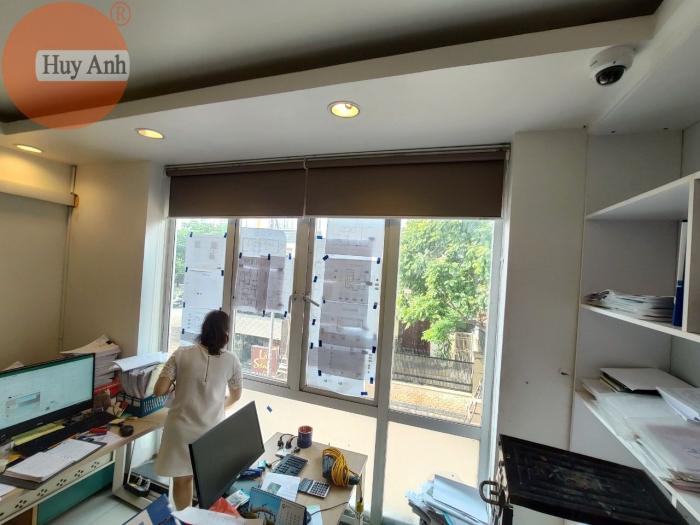 Rèm cửa công sở cho cửa sổ văn phòng tại Long biên, Hà Nội