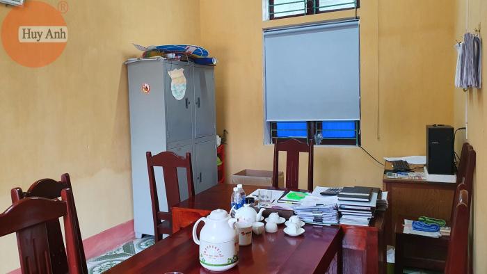 Làm rèm cửa sổ cơ quan UBND Thục Luyện, Thanh sơn, Phú Thọ